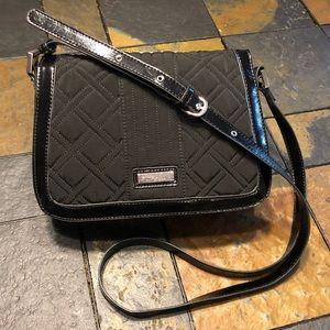Vera Bradley 💙 Messenger Style Black Bag